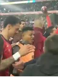 Impressive: The incredible party of Lille players and fans