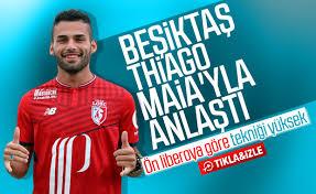 Beşiktaş signs Lille for Thiago Maia