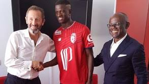 Victor Osimhen signs for five seasons with Lille