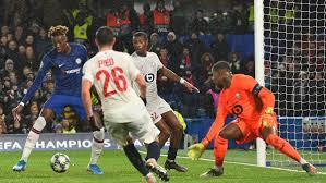 Losc Valence Ikoné's goal on the wire gives Lille its first point in the Champions League