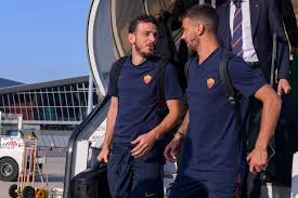 Rome leaving for France: tomorrow the friendly against Lille
